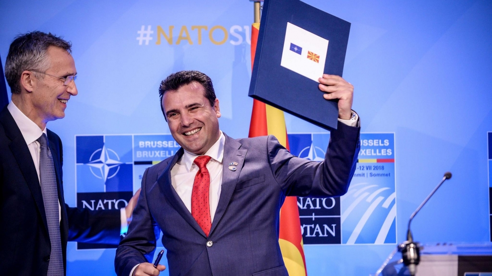 ACCESSION of NORTH MACEDONIA TO NATO