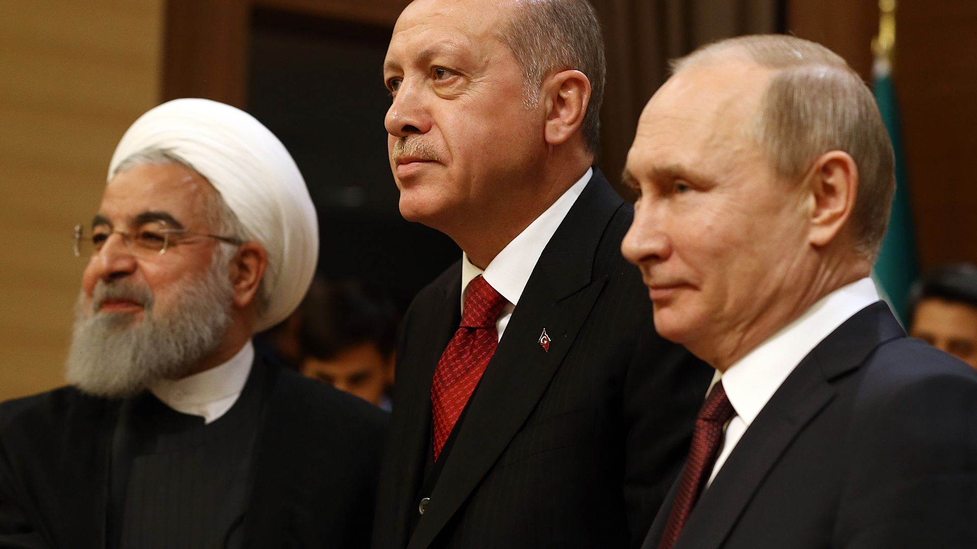 NEW TURKEY AND ITS NEW ALLIES
