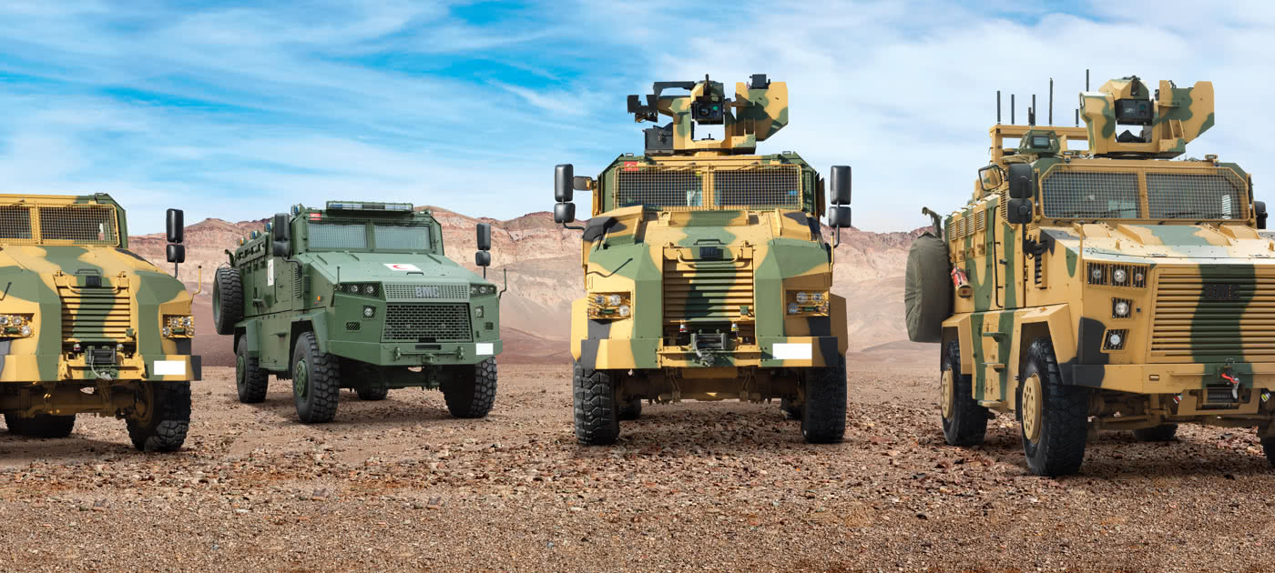 TURKISH DEFENSE INDUSTRY: LAND SYSTEMS