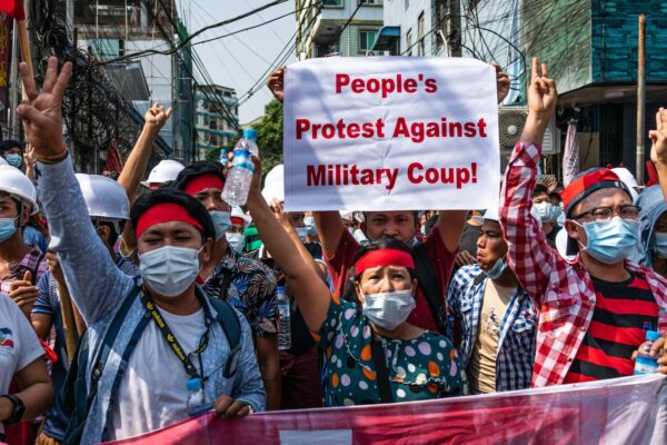 BACKGROUND OF MYANMAR COUP